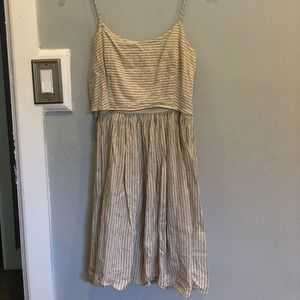 J.Crew belt dress